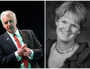 Singe Marie Hernes Bjerke og Colin Rudd