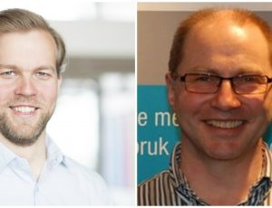 Kristian Spilhaug og Helge Rognlien